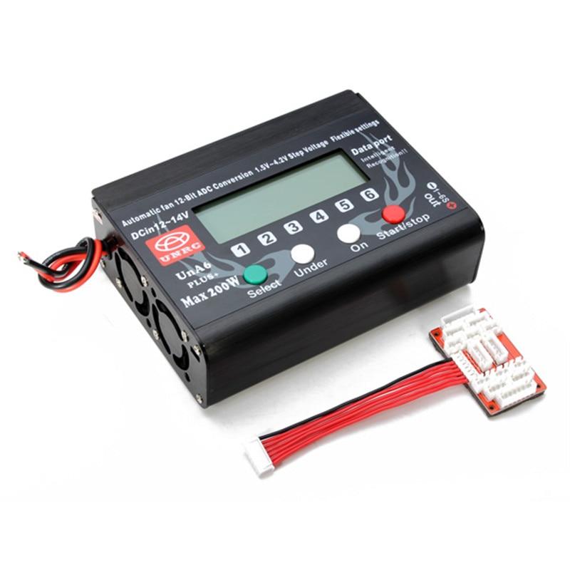 FPV RC Батарея Зарядное устройство UN-A6 Плюс/UN-A9 плюс Lipo Батарея баланс зарядки концентратора Manager 2-9 s автоматический вентилятор 12-бит преобразо...