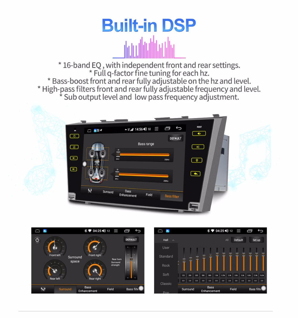 DSP Built-in Unit Stereo 4