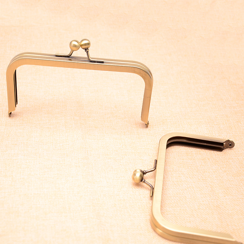 6 x 3 Antique Brass Purse Frame , Supply Free Shipping