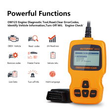 OBD2 Scanner OM123 ODB2 Car Diagnostic Scanner OBD 2 Code Reader For Car Diagnostic OBDll Tool OBD Auto Diagnostic Scanner wholesale price for professional auto diagnostic tool for t oyota mvci scanner mvci for h onda and vo lvo 3 in 1 free shipping