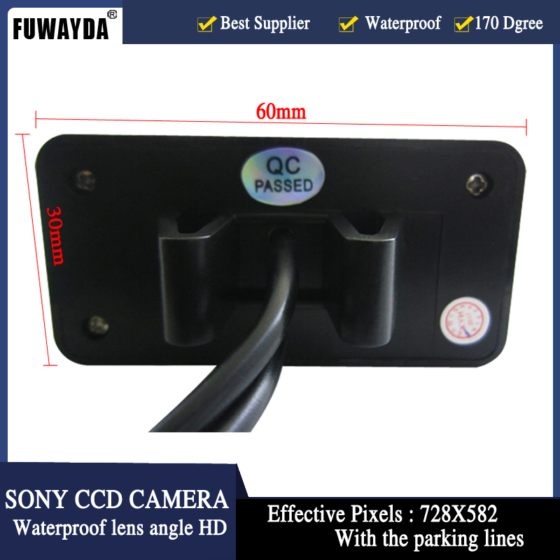 FUWAYDA CAR CCD SONY CHIP Sensor REAR VIEW REVERSE BACKUP PARKING Safety DVD GPS NAV CAMERA FOR FORD TRANSIT CONNECT HD
