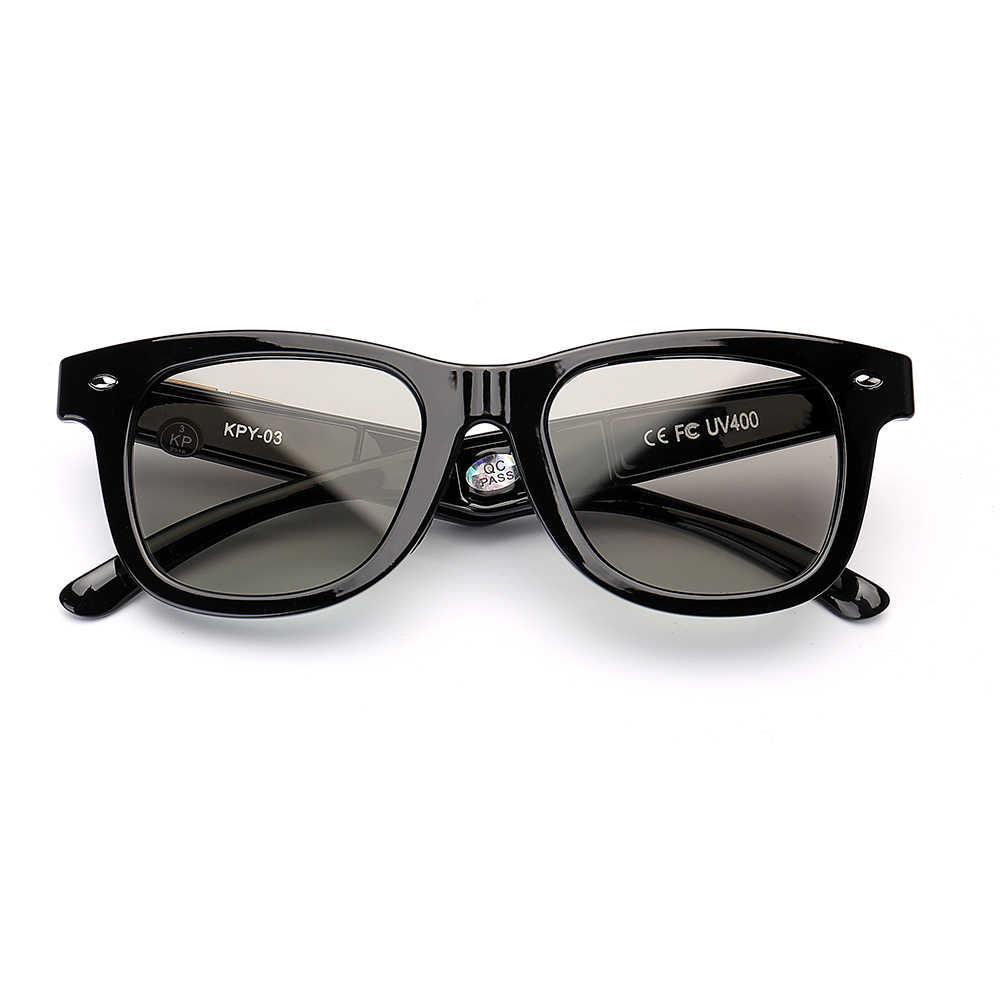 Электронный Diming солнцезащитные очки ЖК-дисплей оригинальный дизайн  Liquid Crystal поляризованные линзы Винтаж Frame черные e42887a0342
