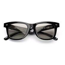 Electronic Diming Sunglasses LCD Original Design Liquid Crystal Polarized Lenses Vintage Frame Shine Black Eyewear glasses