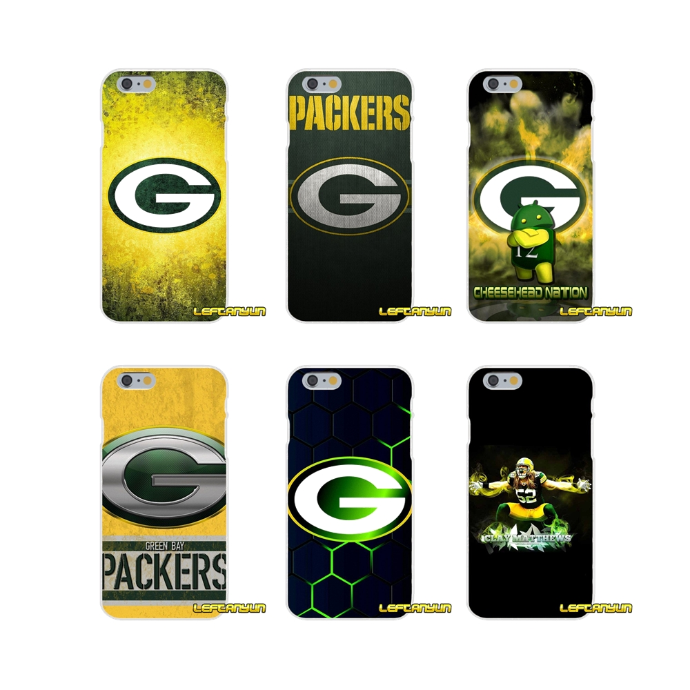 Green Bay Packers football Soft Silicone phone Case For Samsung Galaxy S3 S4 S5 MINI S6 S7 edge S8 Plus Note 2 3 4 5