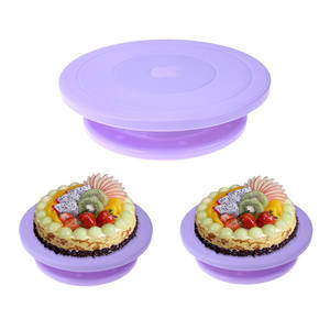 winnereco DIY Cake Decorating Round Cake Stand Tool