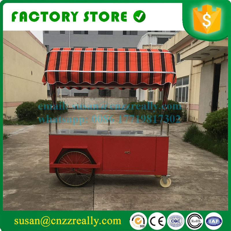 High Quality Mobile Concession Churros Food Trailer Small Cart With Logo And Sunshade In Processors From Home Appliances On Aliexpress