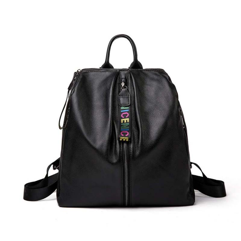 2018 new fashion women bags famous brand women back pack real leather shoulder bags head layer cowhide travel bags school bags 2017 new female genuine leather handbags first layer of cowhide fashion simple women shoulder messenger bags bucket bags