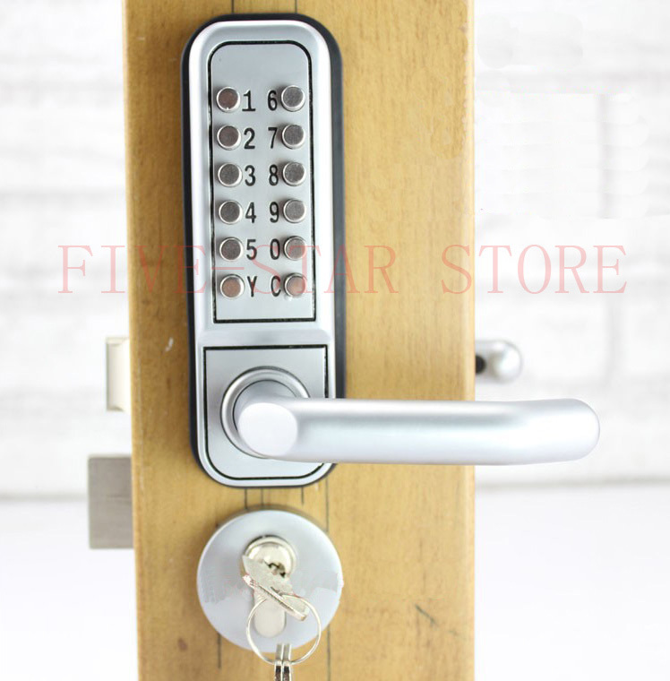 HOT Digital Touch Screen Door Lock With Deadbolt Mortise And Key Mechanical  Interior Door Safe Lock Free Shipping In Locks From Home Improvement On ...