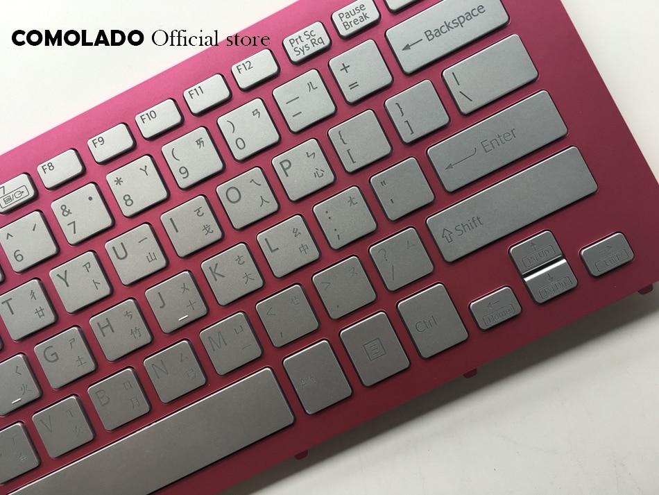 CH клавиатура для sony SVF15N с подсветкой розовая рамка для ноутбука клавиатура CH макет