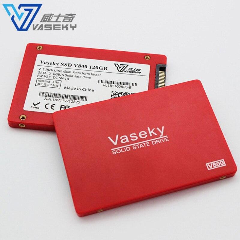 Vaseky SSD 120GB 240GB 2.5 Inch Computer Internal Solid State Drive SATA3 MLC Hard Drive SSD For Desktop PC 64G 640GB