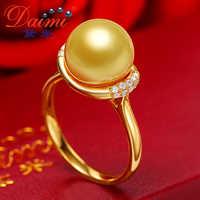DAIMI 18K żółte złoto biżuteria luksusowa biżuteria więcej i więcej