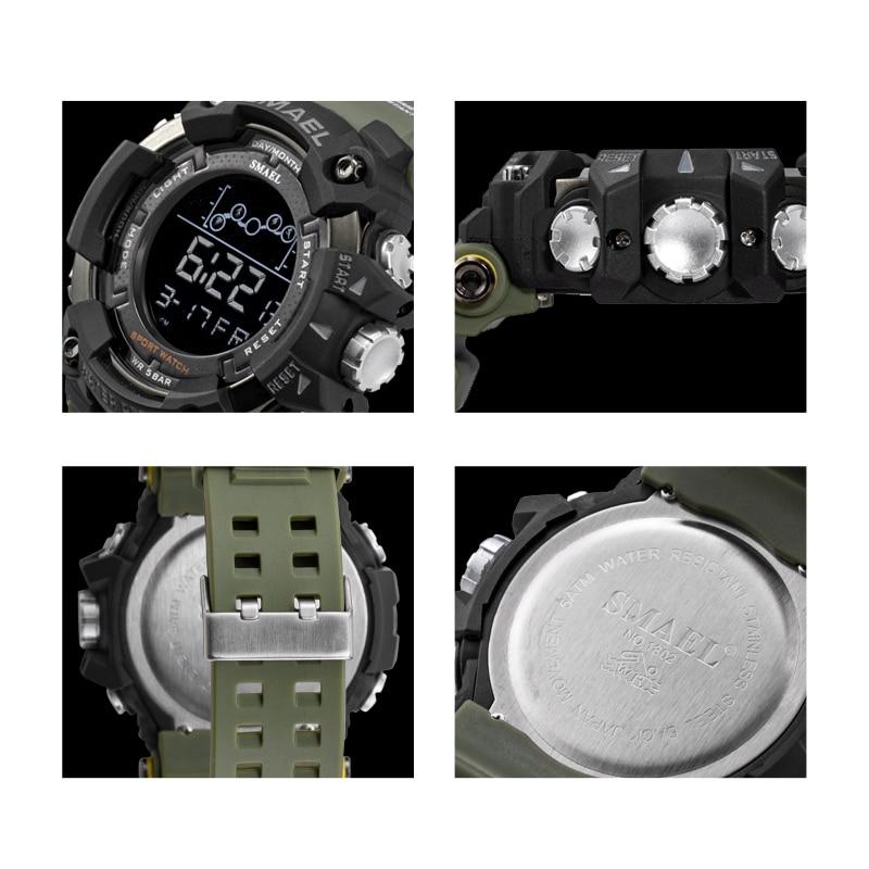 שעון ספורט צבאי עמיד במים 2