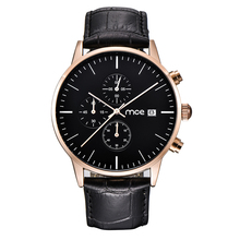 New Mens Watches MCE Brand Luxury Casual Military Quartz Sports Wristwatch Leather Strap Male Clock watch relogio masculino цена и фото