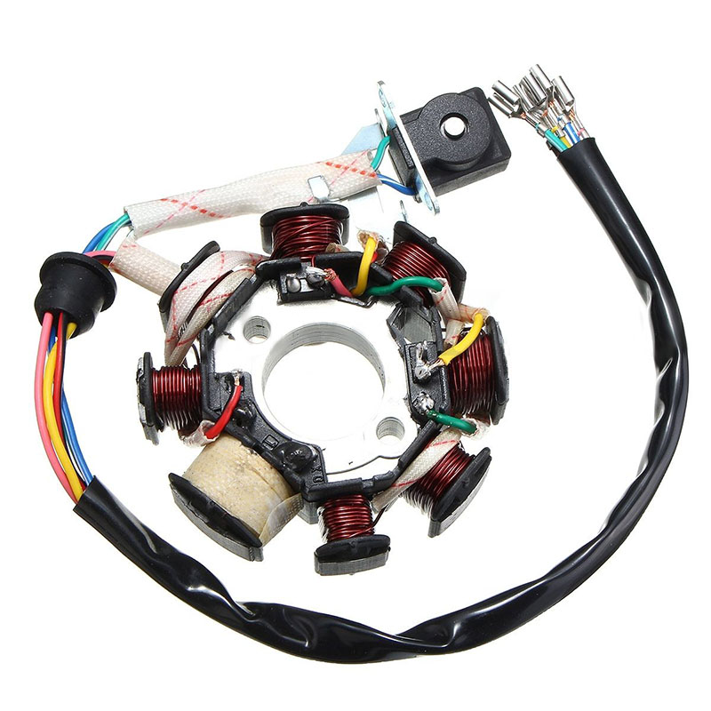 1 Set Motorcycle Stator CDI Coil Electric Wiring Harness Wire Loom ...