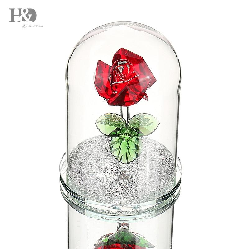 Red Love Heart Ornament Valentine Birthday Mothers Valentines Day Souvenir Gift