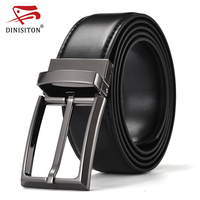 DINISITON High Quality Genuine Leather Military Belt For Men High Quality Special Military Belts Male Luxury