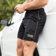 2017men's повседневные летние шорты Sexy штаны мужской фитнес бодибилдинг тренировки человек моды Crossfit Короткие штаны Большие размеры