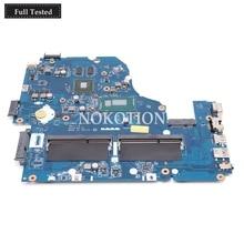 NOKOTION Z5WAH LA-B162P NBMLC11005 NB.MLC11.005 Main board For acer aspire E1-572 E1-572G laptop motherboard i7-4510U 840M