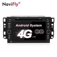 NaviFly Android 7.1 car gps tracker car radio car DVD Navigation for Chevrolet Epica Captiva Lova Aveo Spark Optra 4G wifi