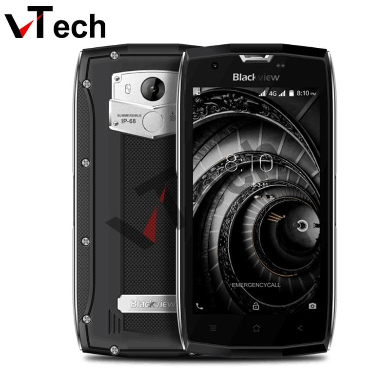 2017 предпродажа Оригинал Blackview <font><b>BV7000</b></font> Pro <font><b>IP68</b></font> Водонепроницаемый MT6750T Octa Core 5 &#8220;FHD 4 г + 64 г отпечатков пальцев gps ГЛОНАСС 4 г смартфон