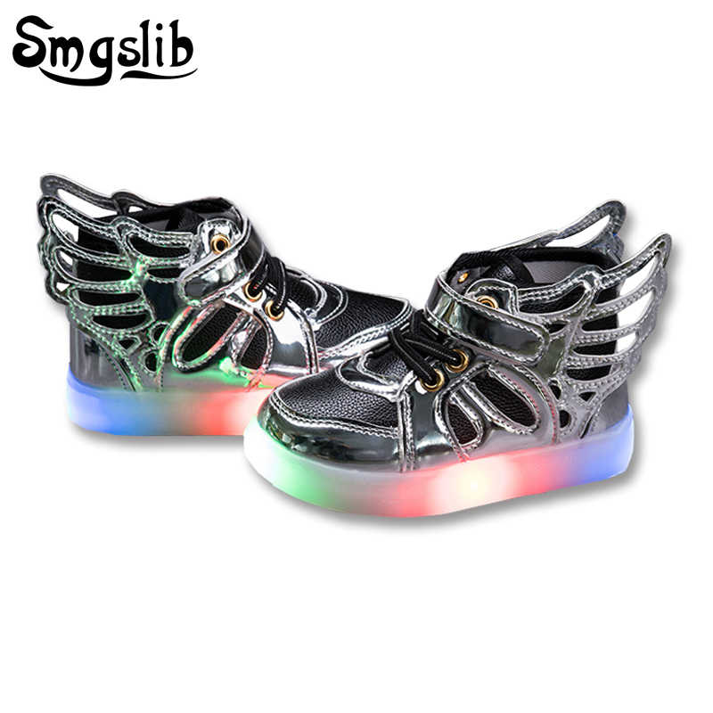 e67474b840a Detail Feedback Questions about 6 color Children shoes with light ...