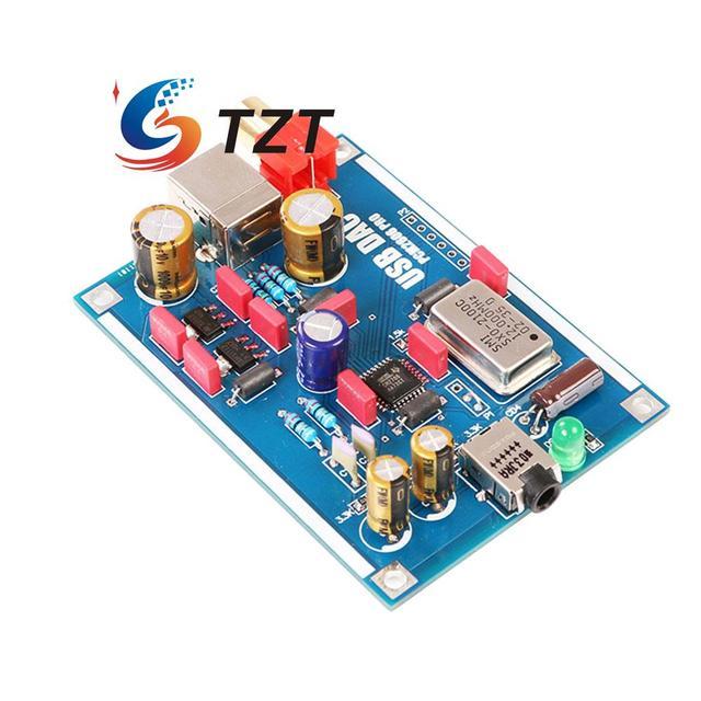 PCM2706 DAC USB Звуковая Карта USB для I2S ЦАП Плата Декодера для Усилитель Для Наушников DIY Комплекты В Разобранном Виде