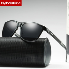 Raydem 2017 Aluminum Magnesium Men's Sunglasses Polarized Coating Mirror Sun Glasses Oculos Male Eyewear Accessories For Men