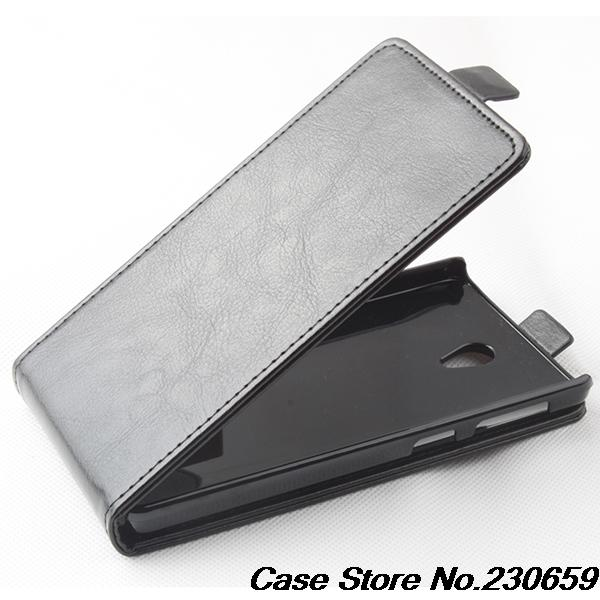 100% PU Leather Case Flip cover Lenovo S860,for S860 genuine Cover Stand Card Holder - alice top store