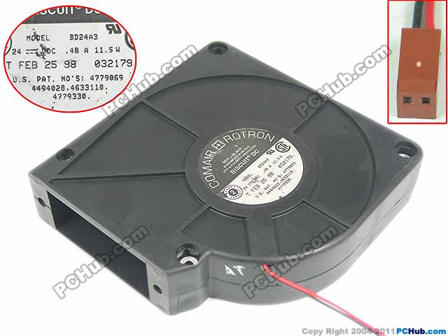 Free Shipping For Comair Rotron BD24A3 DC 24V 0.48A 2-wire 2-pin 120x120x32mm Server Blower fan free shipping comair rotron fe24b3 80mm 8cm 8025 dc 24v 2 wire cooling fan