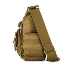 Image 5 - Mannen 1000D Nylon Messenger Schoudertas Militaire Student Tas Trekking Aktetas Laptop Pack