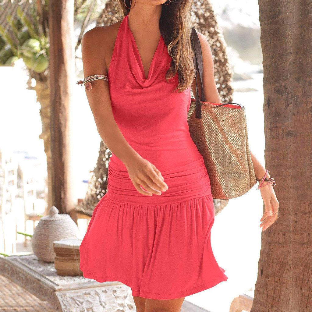 3db8fc5818dd0 Off Shoulder summer clothes for women Floral Short Mini summer dresses and  sundresses sukienka vestidos #G8