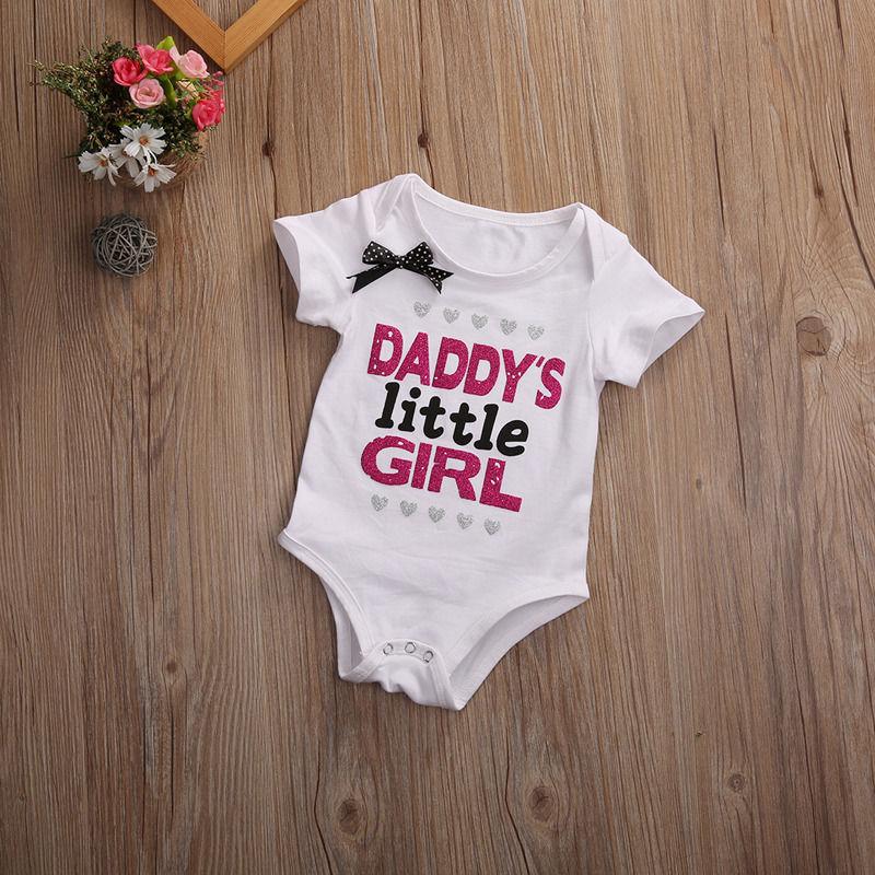 Newborn Infant Baby Boy Girl Cotton Romper Jumpsuit Sunsuit Kids Clothes Outfit