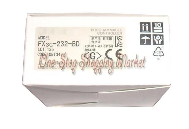 ФОТО New Original Communication Extended Board PLC Module FX3G-232-BD