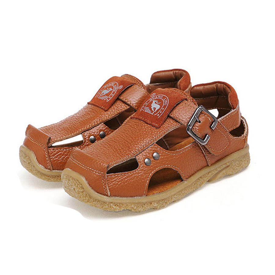 Kids Shoes Genuine Leather Shoes Children Sneakers Sports Cheap Boy shoes breathable kid shoes