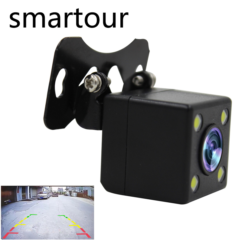 Smartour Car Rear View Camera 170 Degree Reverse Backup Parking Cameras with Night Vision Parking System Parktronic Car Covers car rear view camera with intelligent dynamic trajectory tracks parktronic ccd reverse backup 8 ir parking cam night vision ip68
