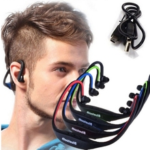 Sport Wireless Bluetooth Earphone Headphones headset for iphone 6/5/4 galaxy S5/S4/3 iOS/Android with microphone Si