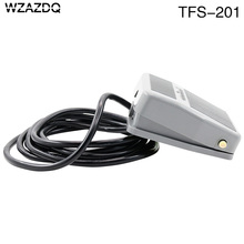 WZAZDQ Foot switch TFS-201 pedal switch reset switch wire 2 m 220V10A
