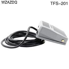 Wzazdq interruptor de pé TFS-201 pedal interruptor de redefinição fio 2 m 220v10a
