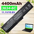 6 cell Laptop  Battery pa3634 For Toshiba  M300  M500  M600 P740 P745 P755  Pro C650  L510  Pro U500  T115D  T130 U400 U405