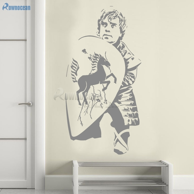 Hobbit Dwarf Shield Vinyl Wall Sticker