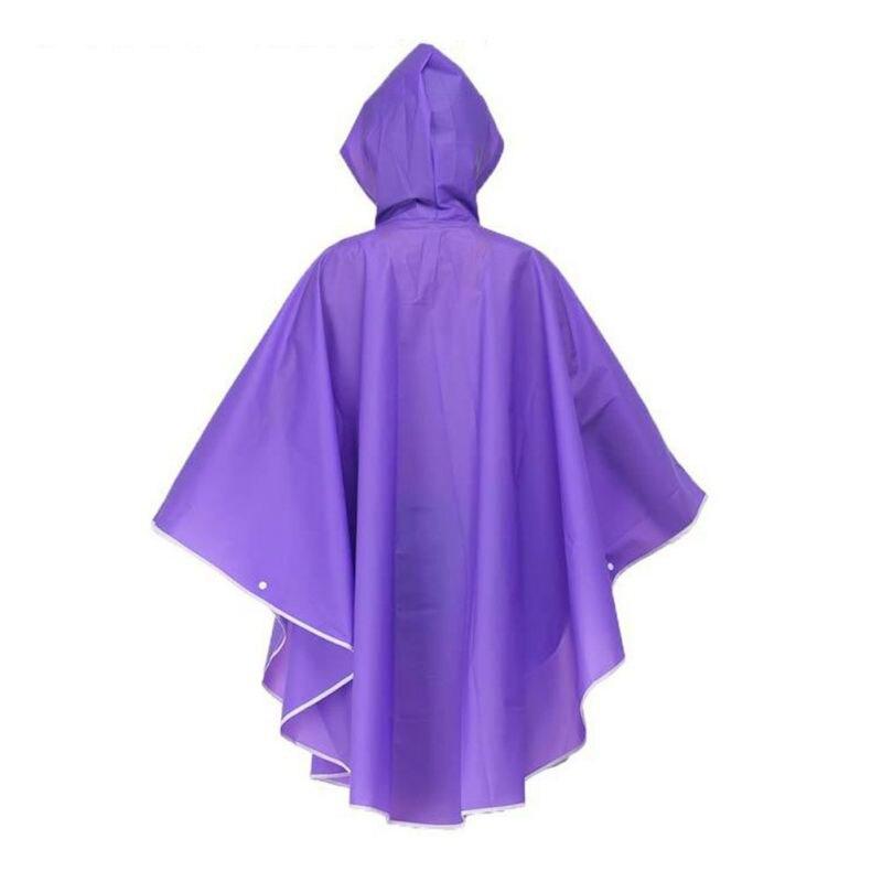Hell Einweg Erwachsene Poncho Regenjacke Regenmantel Unisex Regencape Notfall Damen Die Neueste Mode Regenbekleidung