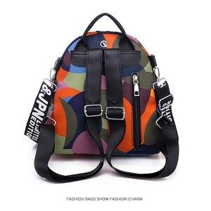 Image 3 - حقيبة ظهر نسائية جديدة متعددة الوظائف مقاومة للمياه أكسفورد حقيبة ظهر نسائية ضد السرقة حقيبة مدرسية للبنات 2019 كيس دوس موتشيلا