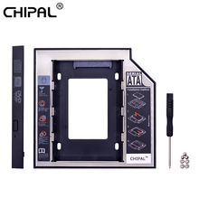 Caddy Ssd Case Hard-Drive-Enclosure Notebook CHIPAL Sata-3.0 for with Led-Indicator Second-Hdd