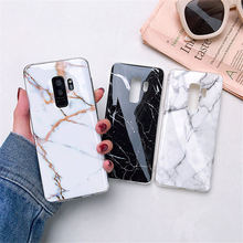 ZFTANG Marble Case On For Samsung Galaxy S10 S10E S9 S8 Plus