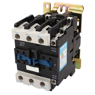 CJX2-6511 Ui 690V Ith 80A 3-Phase 6 Screw Terminals AC Power Contactor sayoon dc 12v contactor czwt150a contactor with switching phase small volume large load capacity long service life
