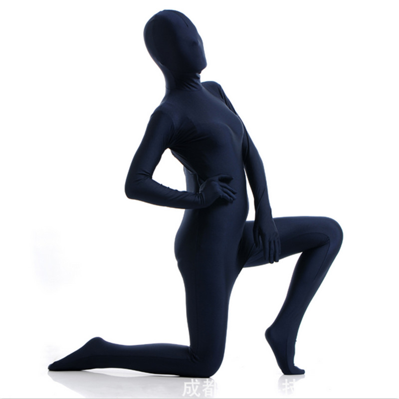 high quality Women Zentai Suit Lycra Nylon Spandex Custom Skin Halloween Cosplay Costumes Bodysuit New Adult Full Body Tights
