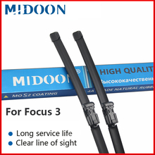 MIDOON Wiper Front Blades For Ford Focus 3 Hatchback 2011-2017 2016 Windshield Windscreen Window 28+28