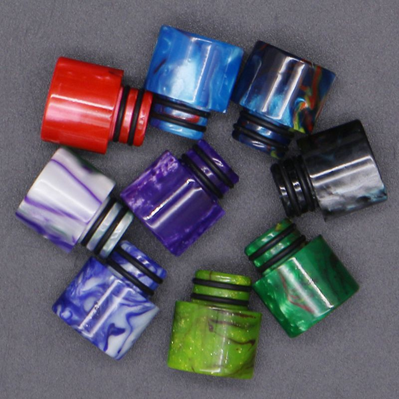 Drip Tip Connor Resin Wide Bore Vape Elronic E-Cigarette Accessory For 510 Thread Mouthpiece Tanks Epoxy RDA RTA Atomizer