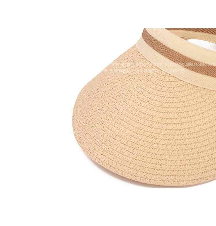 402e20ae ... Cute Bow Sun Hat Female Beach Hat Wide Brim Straw Visor Hat Cap Summer  Hats For