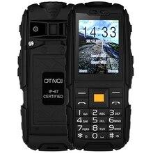 Oryginalny DTNO. I A9 Quad Band Odblokowany Telefon 2.4 cal IP67 Wodoodporna Pyłoszczelna Wstrząsoodporny Aparat FM Latarka 4800 mAh baterii